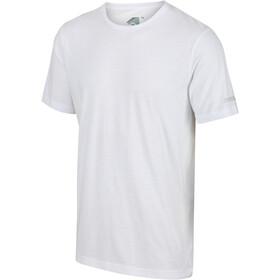 Regatta Tait Camiseta Hombre, blanco